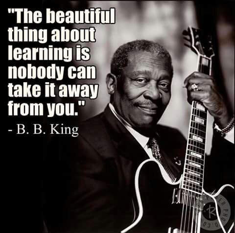BB King On Learning